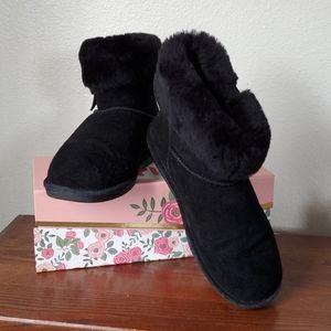 Vegan BEARPAW Suede Boots SZ 11